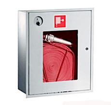 Шкаф пожарный Пульс ШПК-310ВОБ встраиваемый открытый белый