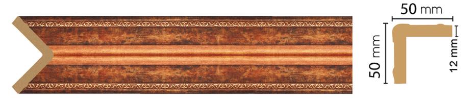 Уголок Decomaster 142-767 (размер 50х50х2400)
