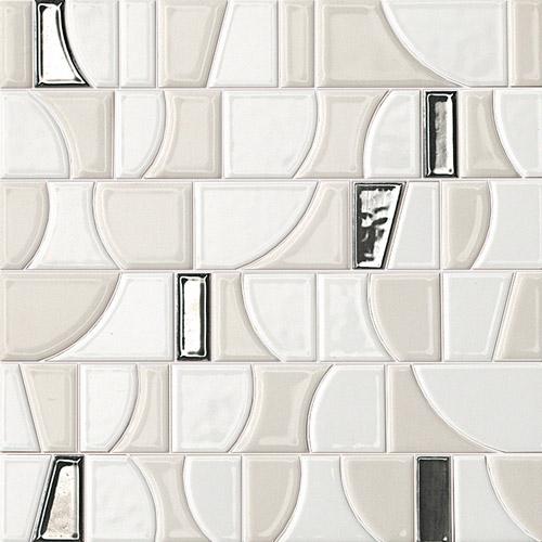Плитка Fap Frame Mosaico Arte White