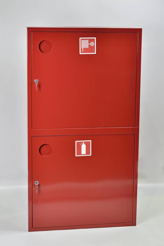 Шкаф пожарный ШПК-320-12НЗК навесной закрытый красный