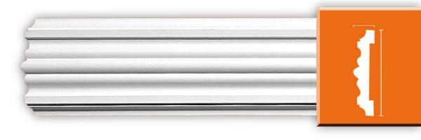 Молдинг гладкий Decomaster 97902 гибкий (размер 100х20х2400)