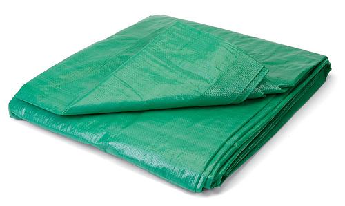 Тарпаулин (брезент) зеленый, разм. 4х8метра