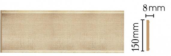 Декоративная панель Decomaster B15-933 (150х9х2400мм)