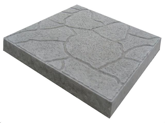 Тротуарная плитка Тучка серый