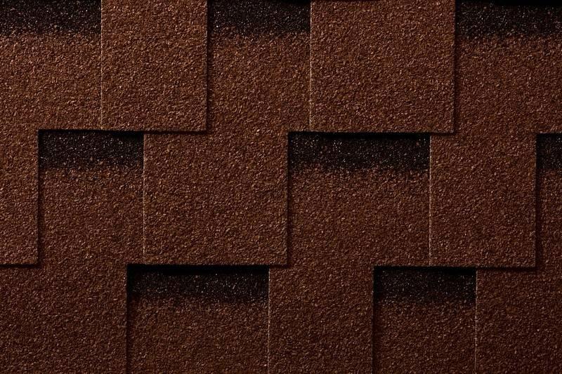 Черепица битумная Икопал Кларо, коричневый (уп. 3м2)