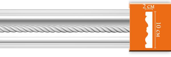 Молдинг с орнаментом DT 8853 (размер 100х20x2000)