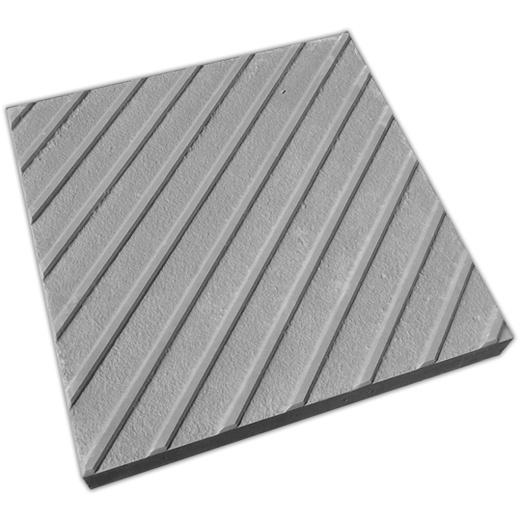 Тротуарная тактильная плитка 500х500х100 мм