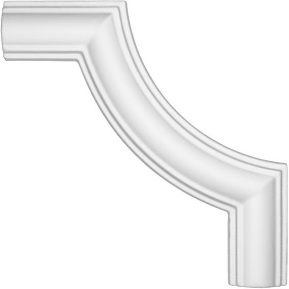 Угол декоративный Decomaster DP 8032 B  (к молдингу  DP 8032)