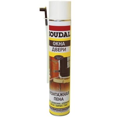 Монтажная пена Soudal (Соудал), 750ml монтажная всесезонная пена профилюкс 45 750мл s45 750