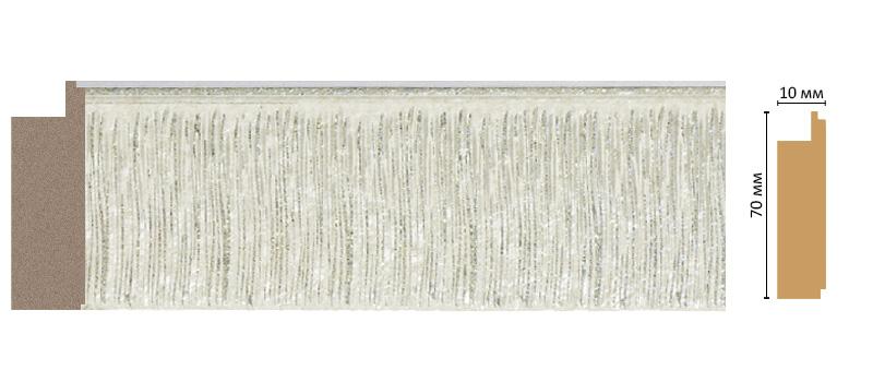 Багет Decomaster 108-20 (размер 70х10х2400)