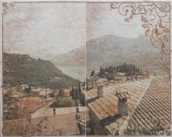 Панно Gracia Ceramica Palermo бежевый 03 50х40