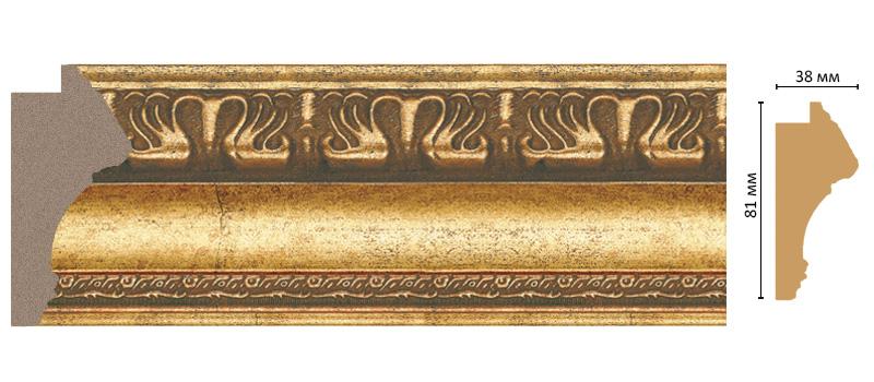 Багет Decomaster 228-565 (размер 81х38х2900)