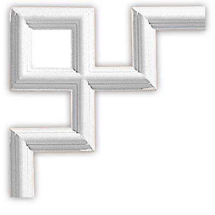 Угол декоративный Decomaster 97012-4 (размер 200х200х12)