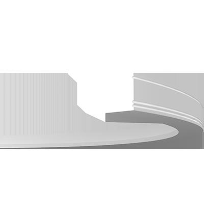 1.50.213 флекс Европласт потолочный карниз, гибкий