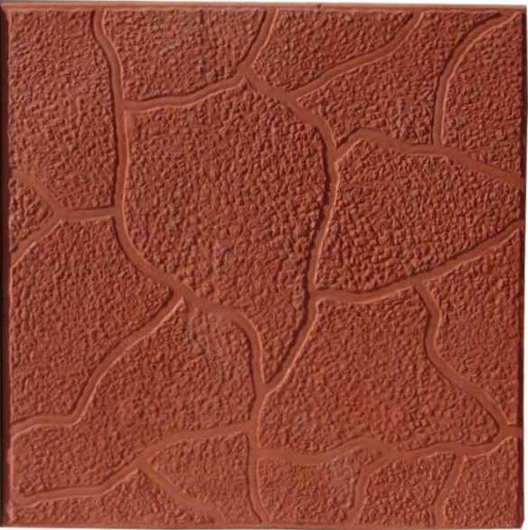 Тротуарная плитка Тучка коричневый