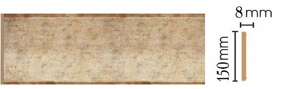 Декоративная панель Decomaster B15-553 (150х9х2400мм)