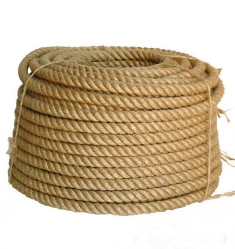 Веревка джутовая 14 мм (1 п.м.)