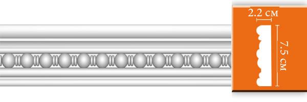 Молдинг с орнаментом Decomaster DT 9865 (размер 68х22х2400)