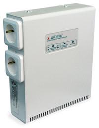 Штиль 1Ф стабилизатор настенный с автоматич.вкл. R 400T,400ВА,Uвх=165-265В,Uвых=209-231В,кронштейн (