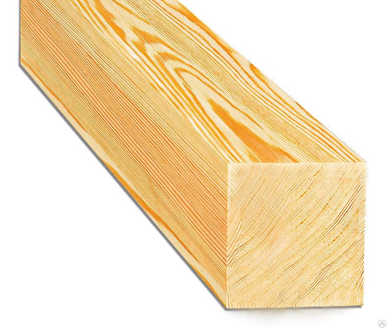 Брусок строганный лиственница 50x50x3000
