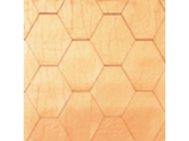 Медная черепица Haussman Sota (шестигранник), 1м2