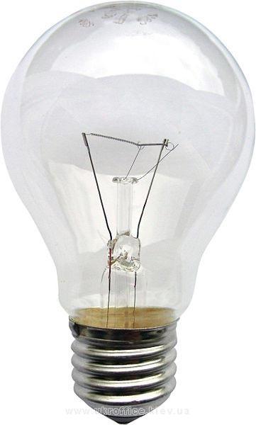 Электрическая лампочка обычная, 100Вт