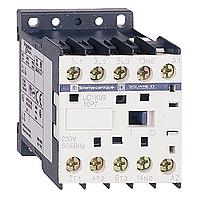 SE Telemecanique Контактор K 380V, 16А, 3НО сил.конт. 1НО доп.конт. катушка 220V АС (LC1K1610M7)