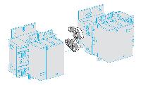 SE TeSys E Механический блокиратор для контакторов 80 95 (LAEM4)