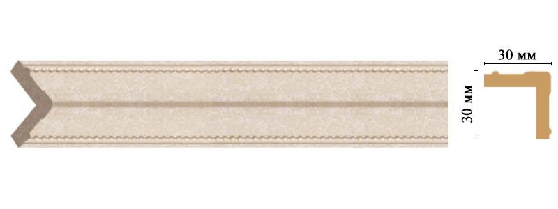 Цветной угол Decomaster 116-18D (размер 30х30х2400)