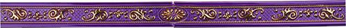 Плитка Colorker Vivenza Listelo Splendore Amethyst (из 3-х частей) 2/001/8