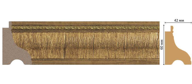 Багет Decomaster 175-4 (размер 60х42х2900)
