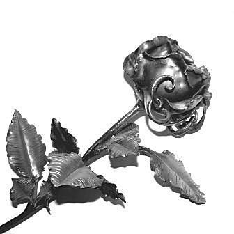 Ковка Роза Арт. 2102 размер 75х60х1,5 от Stroyshopper
