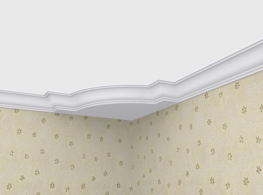 Угол декоративный Decomaster DCB 336 (размер 550х550х67)