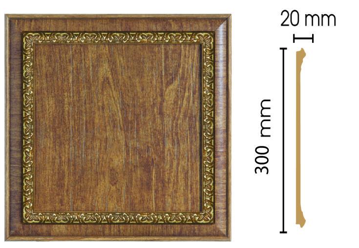 Цветная вставка Decomaster D30-3 (300х300х20)