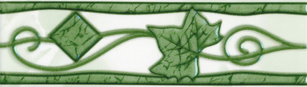 Бордюр Тибет зеленый 20х5,7
