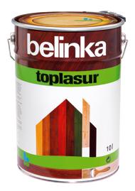 Белинка Топлазурь / Belinka Toplasur бесцветная(12), 10л