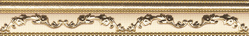 Плитка Aparici Pashmina Moldura Cachemir Gold 4-024-3