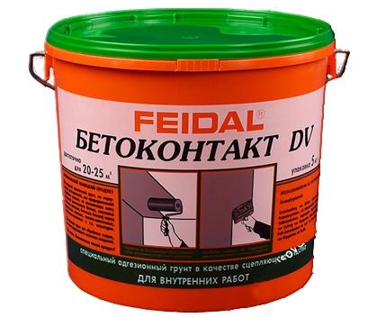 Бетоконтакт Файдаль / Feidal DV 20кг (для внутренних работ)