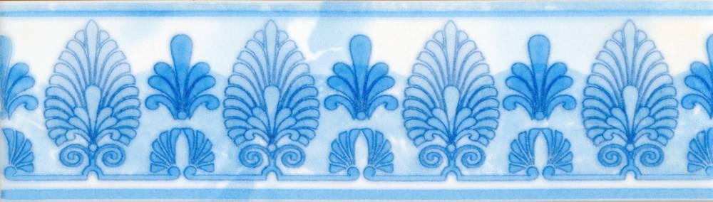 Бордюр Восток голубой 20х5,7