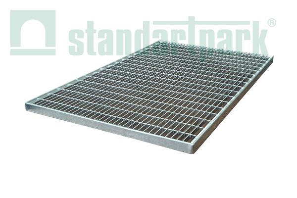 Придверная стальная решетка, 600х400