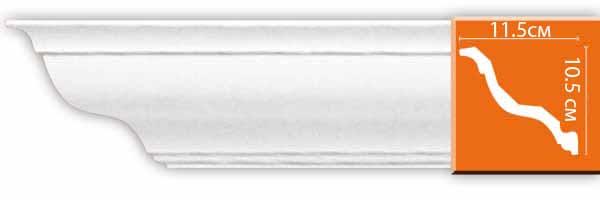 Decomaster DECOMASTER-2 цвет белый 28х90х2400 мм (DP 9012 fl)