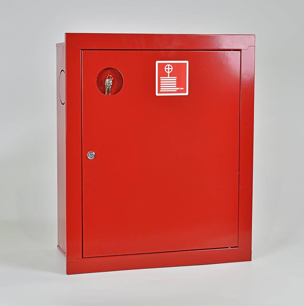 Шкаф пожарный ШПК-310ВЗК встраиваемый закрытый красный
