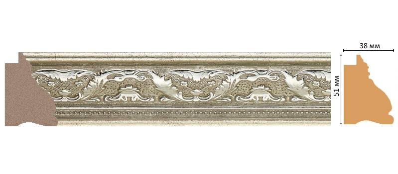Багет Decomaster J11-1224 (размер 51х38х2900)