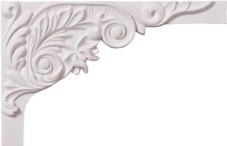 Декоративный элемент Decomaster  для оформления ступеней 66203R