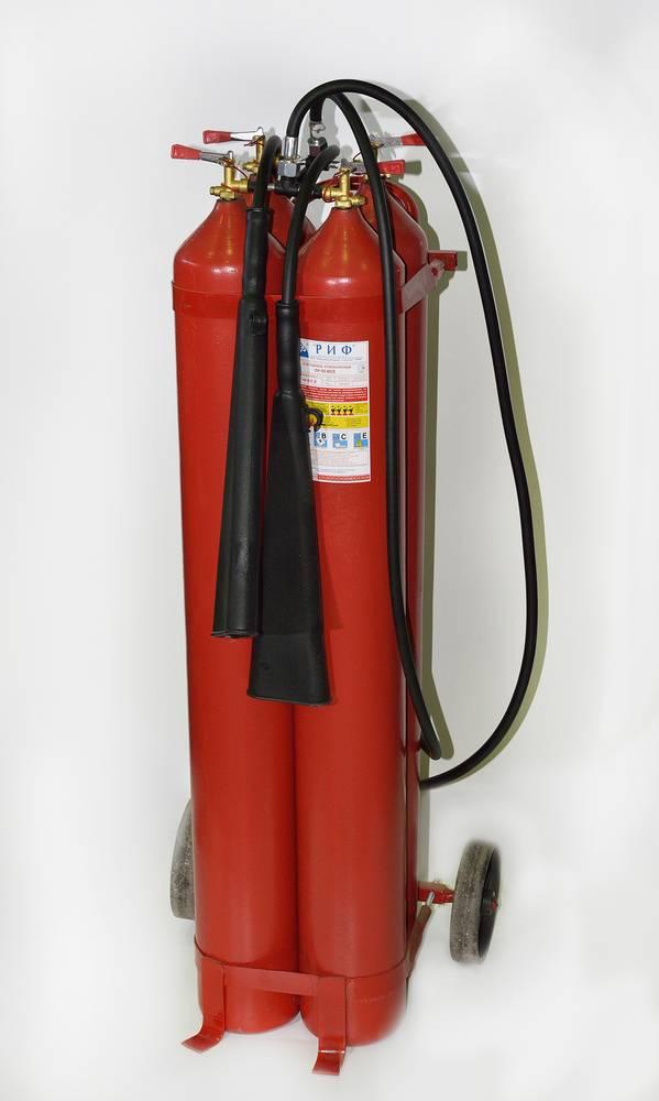 Огнетушитель углекислотный ОУ-55