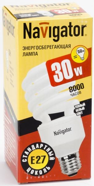 Лампа э/сб Navigator NСL-SH10-30-827-E27 теплый (30Вт)