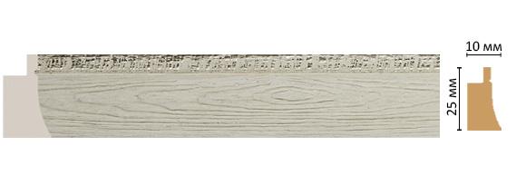 Багет Decomaster  584-1070 (размер 25х15х2900)