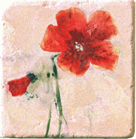 Плитка Cir Marble Style Inserto Style S/3 (Цветок Развернут Вправо) 151264-12-5812-2
