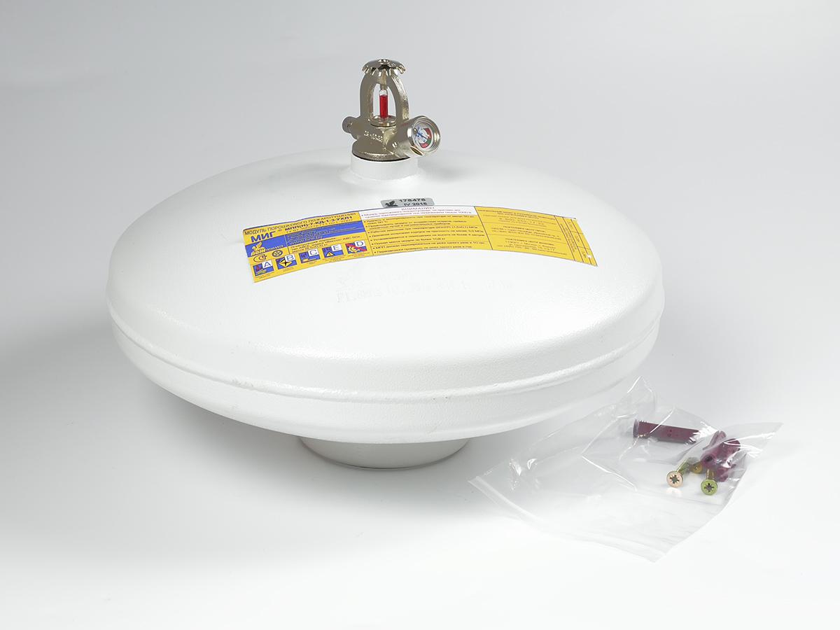 Модуль порошкового пожаротушения МПП-7 МИГ диск