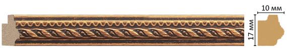 Багет Decomaster 149-954 (размер 17х10х2400)